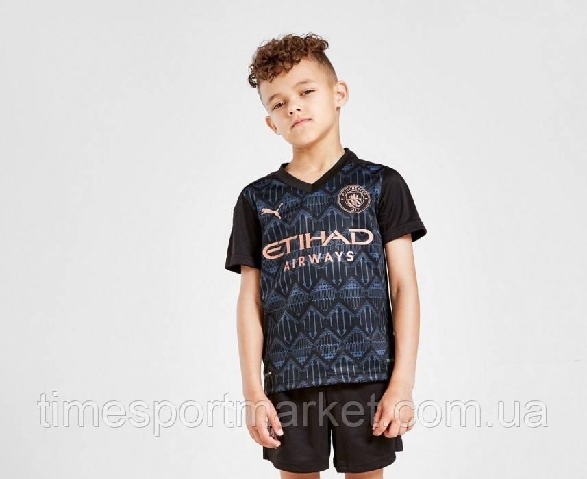 Детская Футбольная форма Манчестер Сити домашняя сезон 2020-2021 (Оригинальная Реплика)