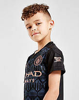 Детская Футбольная форма Манчестер Сити домашняя сезон 2020-2021 (Оригинальная Реплика), фото 3