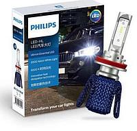 Автолампы лампочки светодиодные лед LED HL H7 Philips