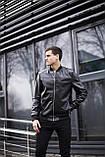 Чоловіча куртка Orbit (чорна), фото 5
