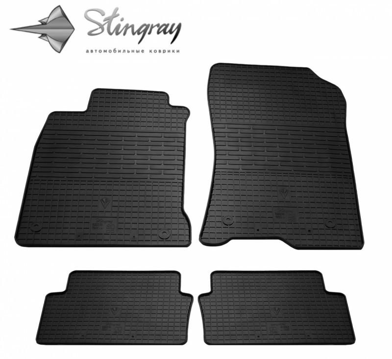 Резиновые коврики в автомобиль Renault Laguna III с 2007- (Stingray)