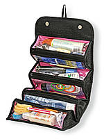 Распродажа! Органайзер для косметики Roll-N-Go - дорожняя женская косметичка-клатч для косметики и хранения, фото 1