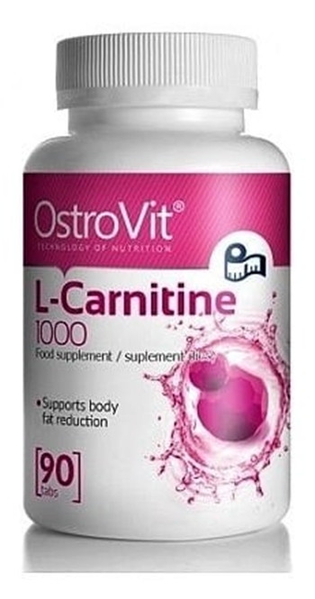 Л-Карнітин OstroVit L-Carnitine 1000 (90 tabs)