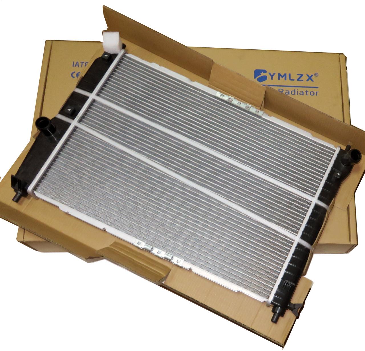 Радиатор основной Авео 1.6 16V МКПП, YMLZX, YML-BR-686, 96536525, 96816483
