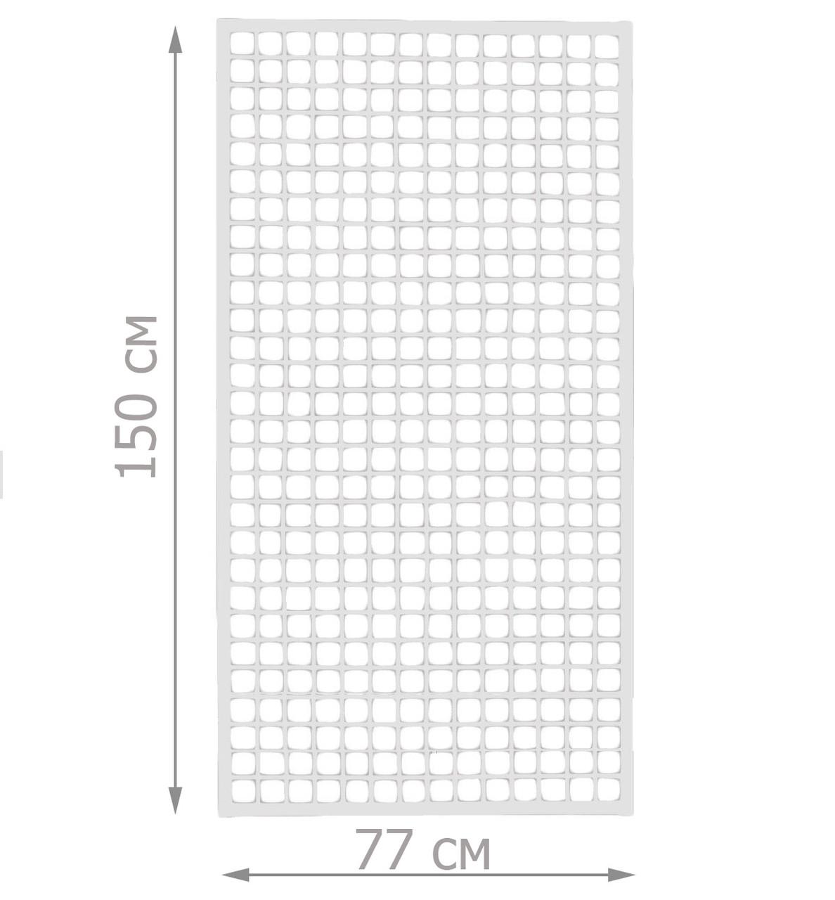 Торговая сетка стенд в рамке 77/150см профиль 20х20 мм (от производителя оптом и в розницу)