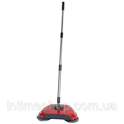 Механическая щетка для пола, веник щетка, Sweep drag all in one Rotating 360