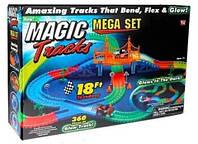 Распродажа! Конструктор, Magic Tracks 360 деталей, детская дорога + 2 машинки