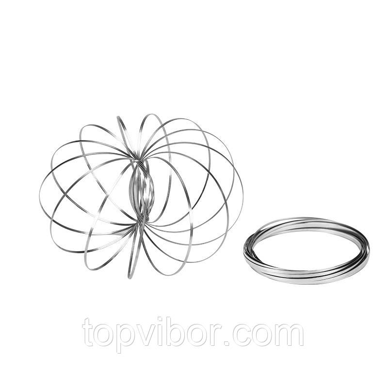 Распродажа! Игрушка антистресс Toroflux (Торофлакс), кинетические кольца-спираль, с доставкой