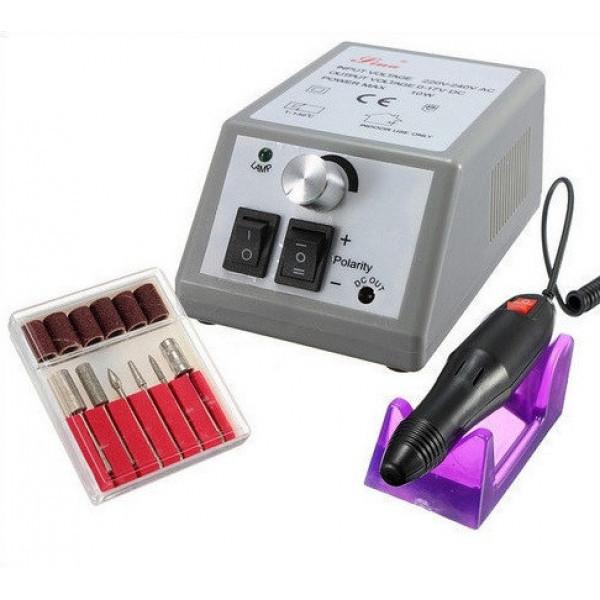 Фрезер для маникюра, цвет - серый, Mersedes 2000, аппарат для маникюра, машинка для педикюра