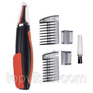 Гигиенический триммер для носа и ушей MicroTouch SwitchBlade, машинка для стрижки волос в носу