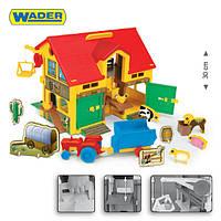 """Домик """"Play House - Игровая ферма""""  - игровой набор от Wader (Польша)"""