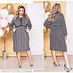 Платье повседневное на резинке итальянский трикотаж 50-52,54-56, фото 3