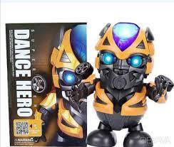 Интерактивная игрушка Dance Hero Танцующий роботBumblebee со световыми и звуковыми эффектами