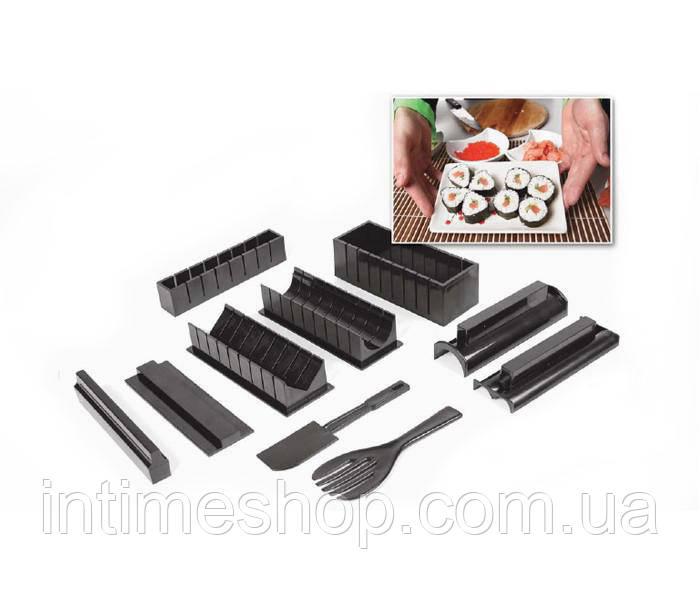 Набор для приготовления суши и роллов 5 в 1 Мидори, в домашних условиях - все для суши по Украине