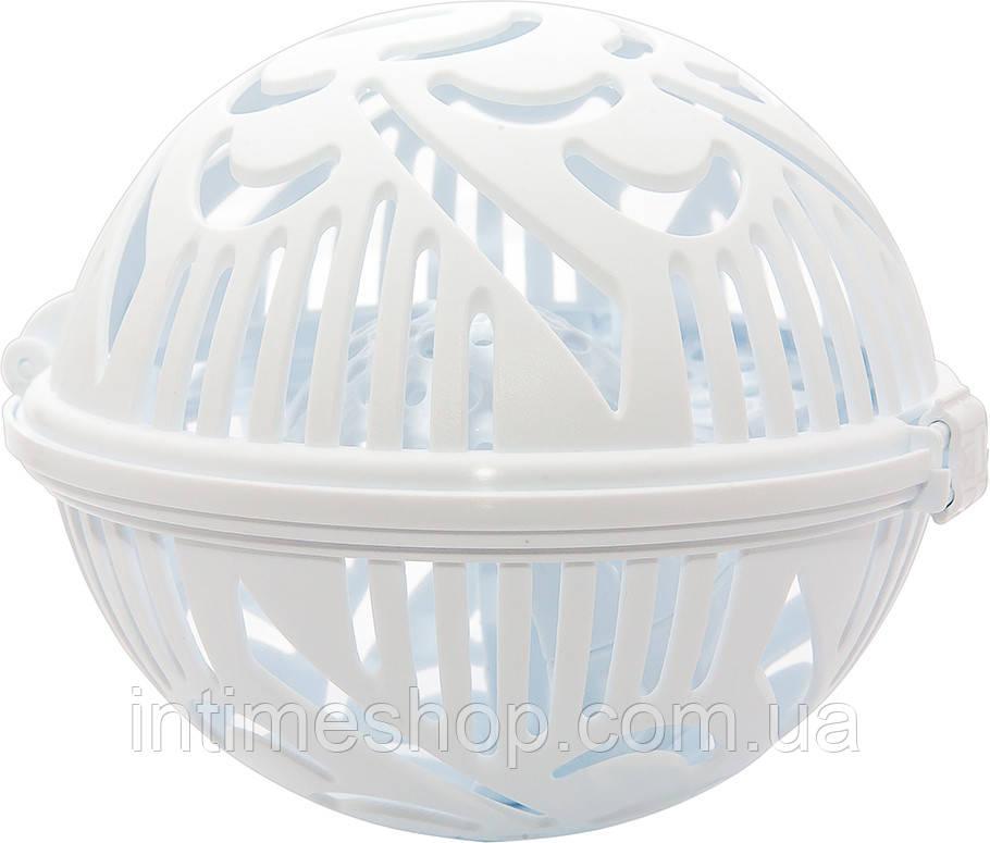 Контейнер для стирки бюстгальтеров Flexy Bra Washer, цвет - белый, с доставкой по Киеву и Украине (TI)
