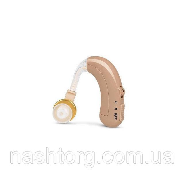 Заушный аккумуляторный слуховой аппарат Axon C-109 (с зарядным устройством), доставка по Украине