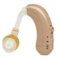 Заушный слуховой аппарат, Happy Sheep HP-118, аналоговый, с аккумулятором, фото 1