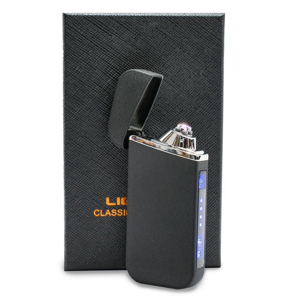 USB зажигалка электродуговая (ZGP 22 Матовая) сенсорная электрозажигалка аккумуляторная