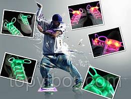 🔝 Світяться шнурки, Led шнурки. Аналог світяться кросівок,для підлітків LED Platube   🎁%🚚
