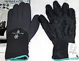 Перчатки Зимние морозостойкие Рыбалка работа с водой маслами -30 очень теплые и прочные  Hercule VV 750, фото 2