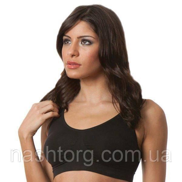 Бюстгальтер A bra (А Бра) Aire Bra, чёрный - XXXL, нижнее белье, с доставкой по Киеву и Украине