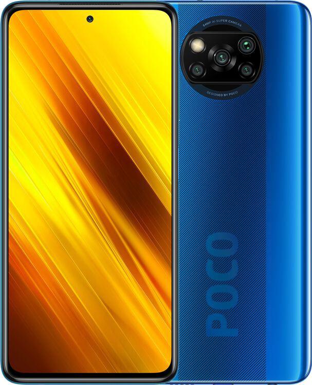 Poco X3 6/64 Cobalt Blue Global Гарантия 1 Год