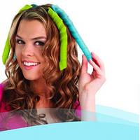 Спиральные бигуди. Бигуди, Hair WavZ (Хейр Вейвз) 31-51 см. Это, термобигуди, для волос. Спиральки, фото 1