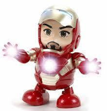 Интерактивная игрушка Dance Hero Танцующий Iron Man Танцующий музыкальный герой