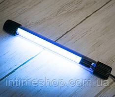 Бактерицидная УФ лампа UV-C 9W ультрафиолетовая для обеззараживания дома (бактерицидна, ультрафіолетова) (TI)