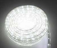 Светодиодная гирлянда дюралайт, уличная, LED (белый свет), 8 метров, (доставка по Украине), фото 1