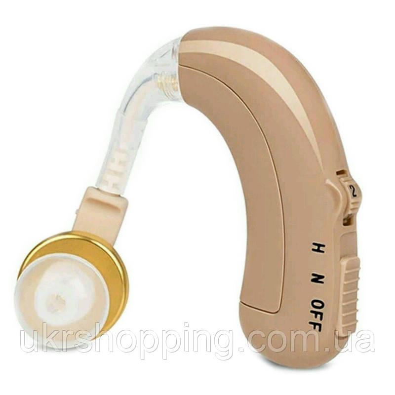 Заушный слуховой аппарат, Happy Sheep HP-118, аналоговый, с аккумулятором