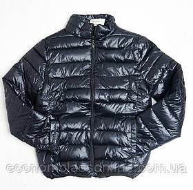 Куртка женская осенняя черная L-2XL-3XL