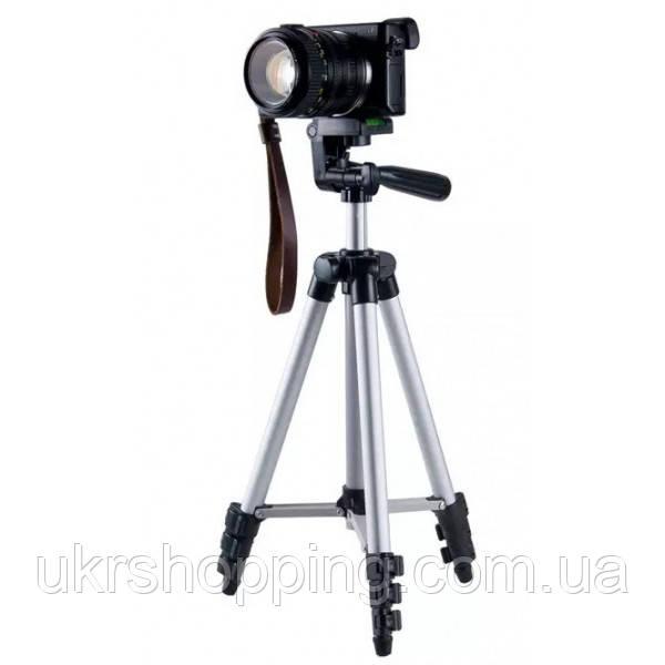Распродажа! Высокий штатив для фотоаппарата Tripod 3110, тренога держатель для телефона, трипод для камеры