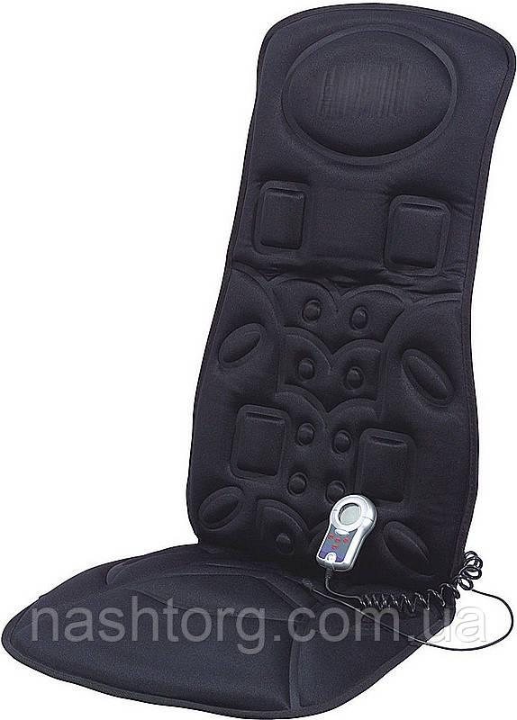 Массажная накидка с подогревом TL-2005 Z-F для авто, цвет - черный, с доставкой по Киеву и Украине
