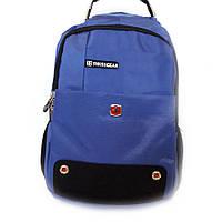 Городской рюкзак, универсальный, рюкзак - 7215 для ноутбука, цвет - синий, фото 1