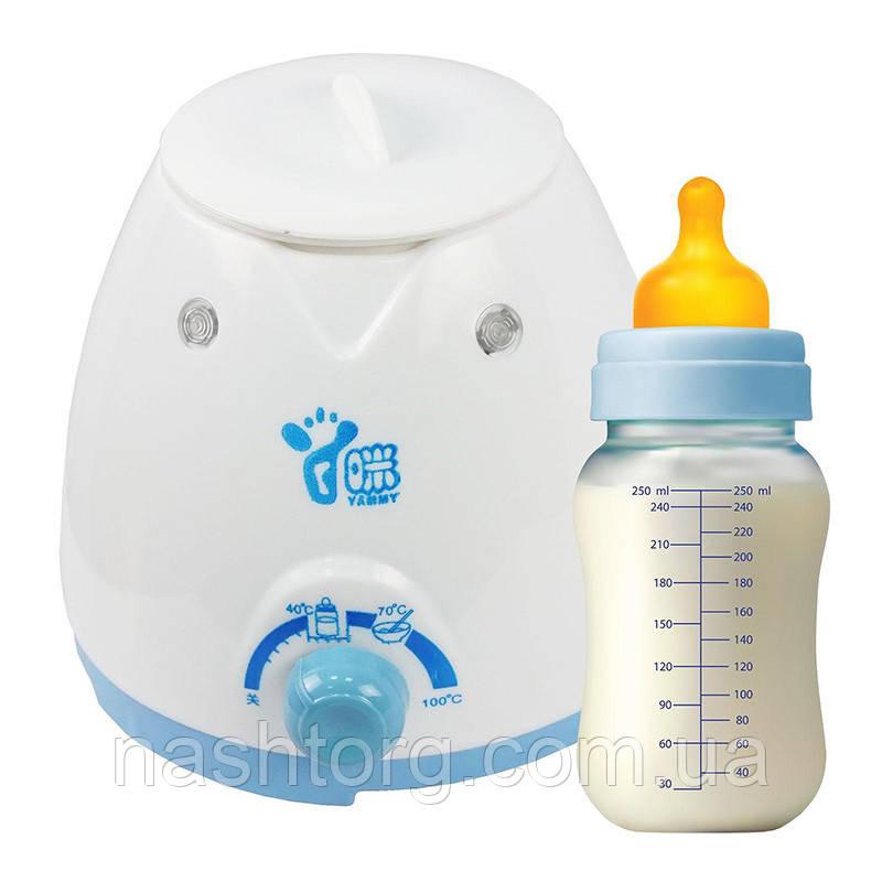 Электрический подогреватель для бутылочек Yummy YM-18C, прибор для подогрева детского питания
