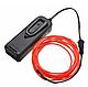 Гнучкий світлодіодний неон Червоний, Neon Glow Light Red - 3 м, 2 AA, фото 2