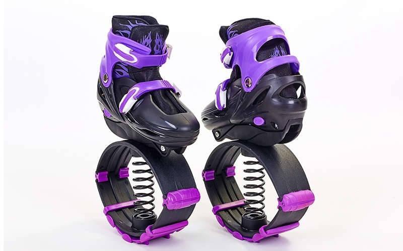 Ботинки Kangoo Jumps, Кенгу Джампс, фитнес джамперы, цвет - фиолетовый, размер 39-42
