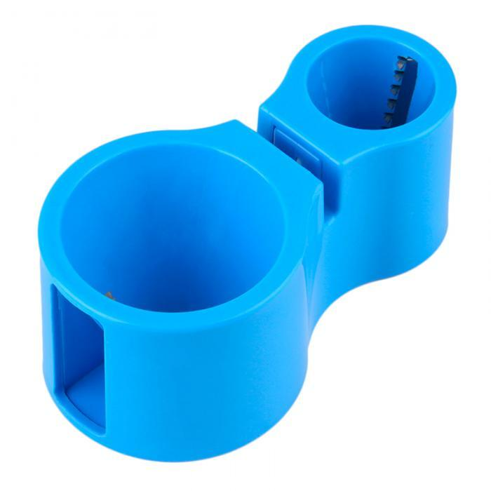 Спиральная овощерезка Spiral Cutter, прибор для резки овощей - фигурная терка - голубая