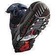 Льодоступи зимові 6 шипів   антиковзні накладки на взуття льодоходи 37-45. По Україні, фото 3