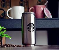 Термокружка Starbucks (Старбакс) 350 мл., кружка-банка, с доставкой по Киеву и Украине, фото 1