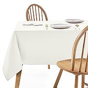 Скатертина 210х140см Айворі Арт.963 Туреччина в Ресторан на стіл 150х80см спуск 30см