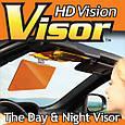 Солнцезащитный козырек, Hd Vision Visor.Легкомонтируемый, антибликовый козырек. Аксесуари для авто (GK), фото 5