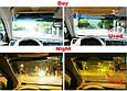 Солнцезащитный козырек, Hd Vision Visor.Легкомонтируемый, антибликовый козырек. Аксесуари для авто (GK), фото 7