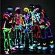 Гнучкий світлодіодний неон LTL (прозорий синій) Neon Glow Light Transparent - 3м, 2 AA, фото 9