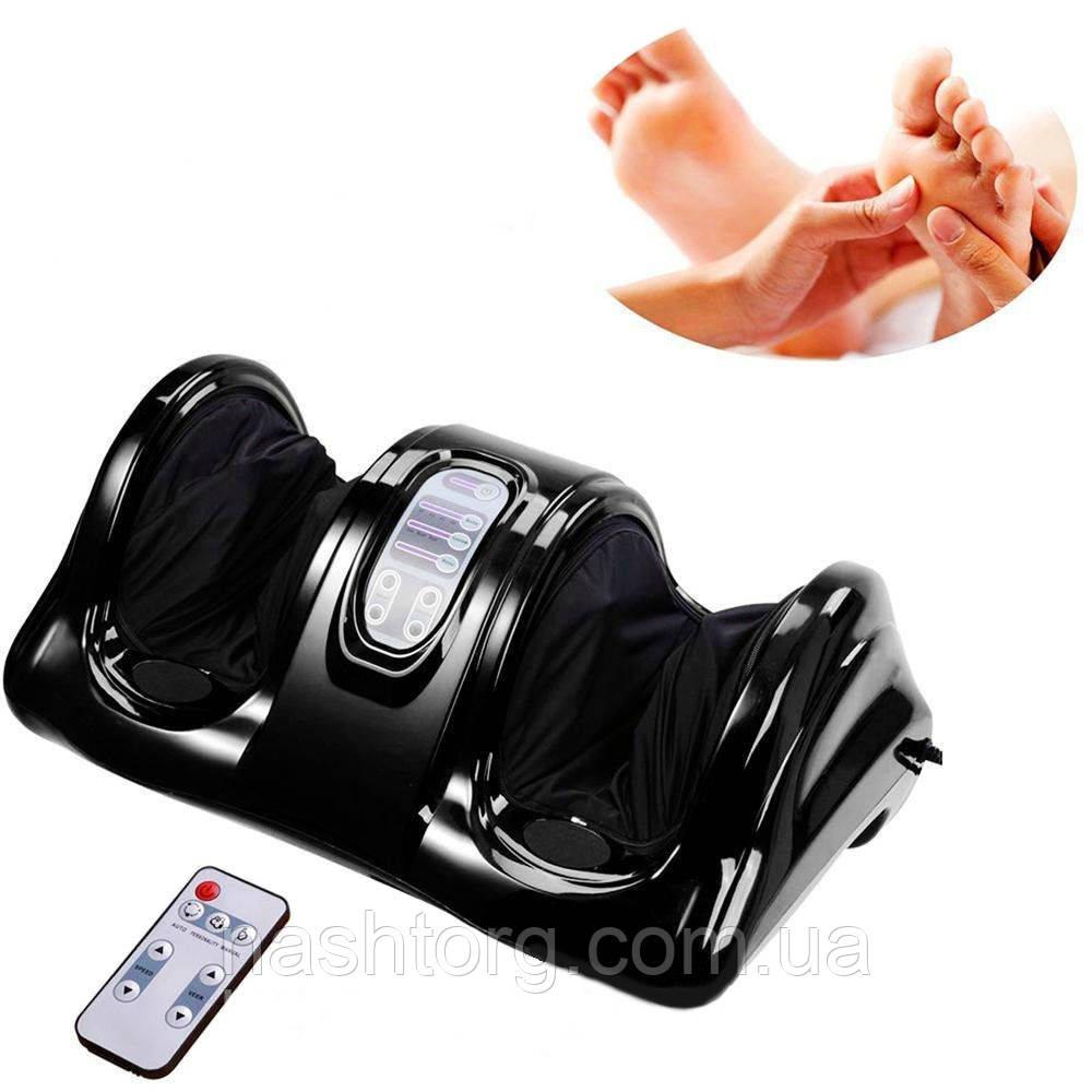 Распродажа! Массажер для ног Блаженство, foot massage, Цвет - черный, электромассажер с доставкой по Украине