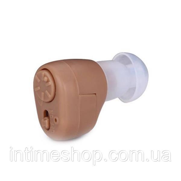 Внутриушной слуховой аппарат Axon K-86 (Аксон) Бежевый усилитель слуха   внутрішньовушний слуховий апарат (TI)