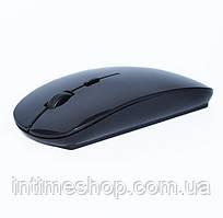 Бездротова комп'ютерна мишка Wireless Bluetooth Mouse G-132 Apple Style, Чорна, оптична миша
