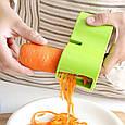 Спіральна овочерізка-терка Spiral Cutter - салатовий, фото 5