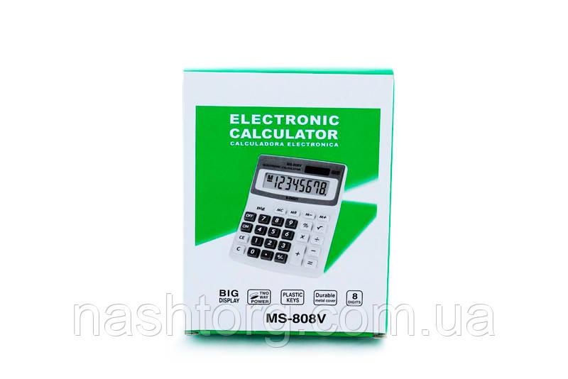 Калькулятор, MS-808V, надежный, простой калькулятор
